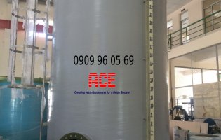FRP Composite Tanks contain PAC chemicals